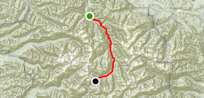 Elwha River Trail Map