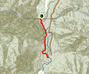 West Elwha River Trail Map