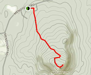 Mount Tom Trail Map