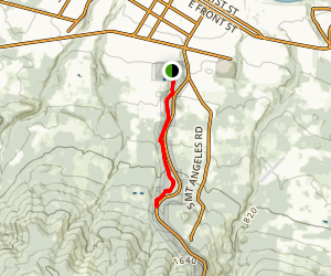 Peabody Creek Trail Map
