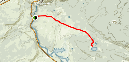 Wrangler Lake Trail Map