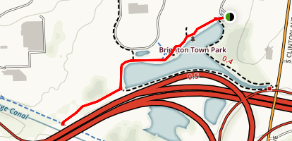 Brighton Town Park Trail Map