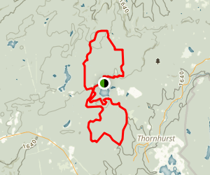 Pinchot Trail Map