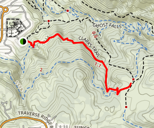 Clarks Trail Map