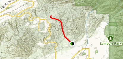 Hogs Hollow Trail Map