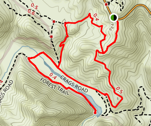 Cistern Trail to Forest Trail Map