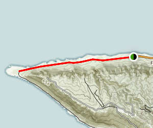 Ka'ena Point Via Farrington Hwy Map