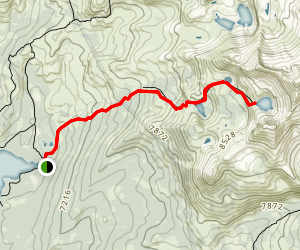 Grouse, Hemlock, and Smith Lake Trail Map