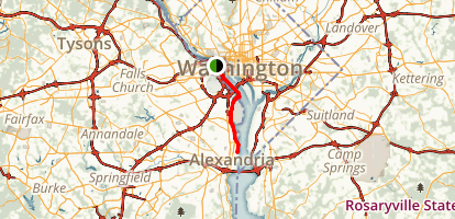 Mount Vernon Trail  Map