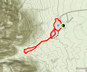 Sandstone Canyon Loop Map