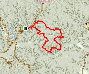 Zaleski State Forest Day Loop Trail Map