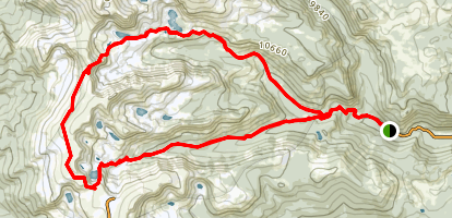 Devils Thumb Pass and King Lake Trail Map