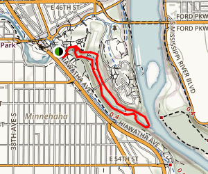 fort snelling state park trail map with Minnehaha Creek Trail on  together with Location Of Fort Bliss as well Twin Cities Area Mountain Bike Trail further Minnehaha Creek Trail additionally Metro.