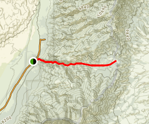 Mosca Pass Trail Map