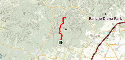 Joe Johnston Route Trail Map