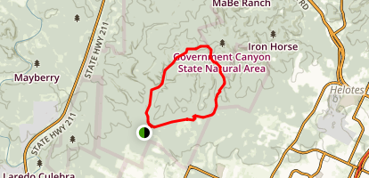 Wildcat Canyon Far Reaches Loop Trail Map