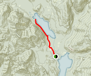 Upper Priest Lake Navigation Trail Map