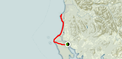 Point of the Arches Trail Map