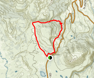 Terrace Mountain Trail Map
