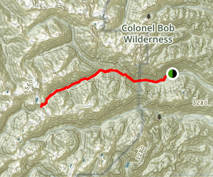 West Fork Dosewallips River Trail Map