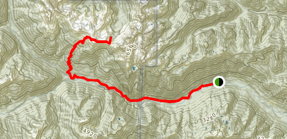Constance Pass Trail Map