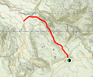 Rescue Creek Trail Map