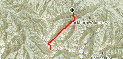 Cameron Pass Trail Map