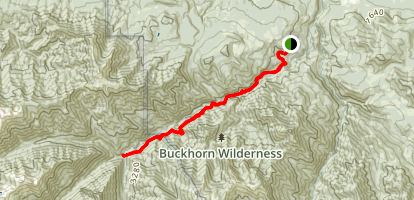 Gray Wolf Trail Map