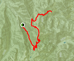 Little Quilcene Trail (historical) Map