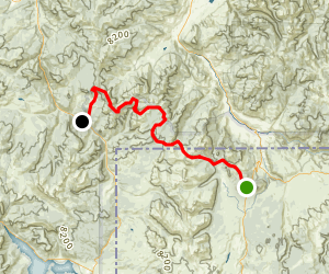 The Gallatin Skyline Trail Map