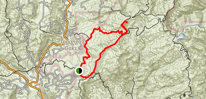 Musch Trail to Eagle Rock Map