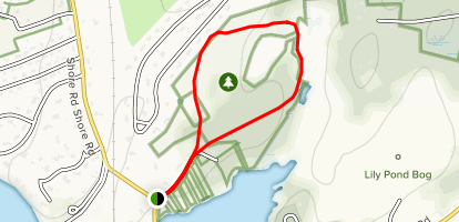 Red Brook Pond Conservation Area Trail Map