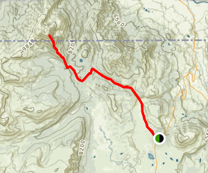 Electric Peak Trail Map