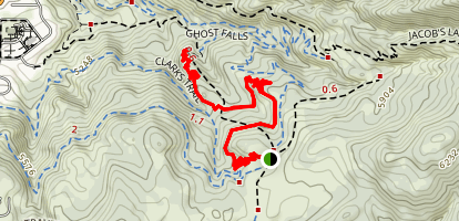Rush Trail Map