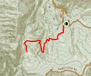 Sheepherder Hill Trail Map