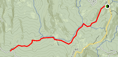 Rock Springs Trail Map