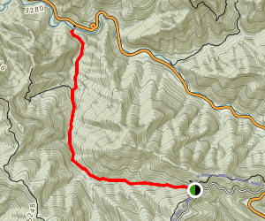 Road Prong Trail Map