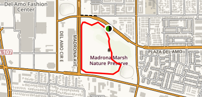 Madrona Marsh Map