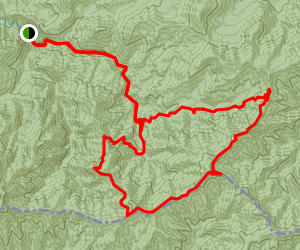 Lynn Camp Prong and Appalachian Trail Loop Map