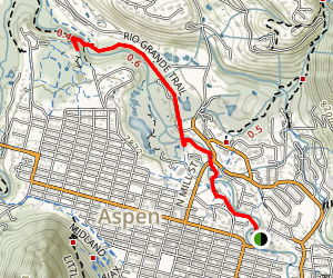 Rio Grande Trail East Map