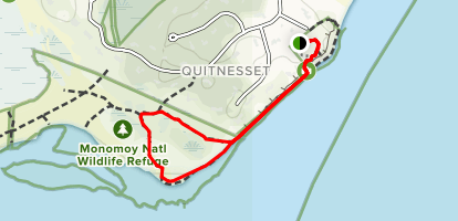 Monomoy Nature Trail Map