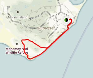 Morris Island Trail Map