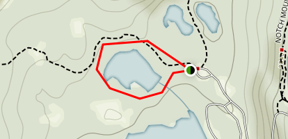 Crystal Lake Loop Map