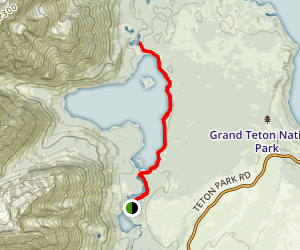 Bearpaw and Trapper Lake Trail Map