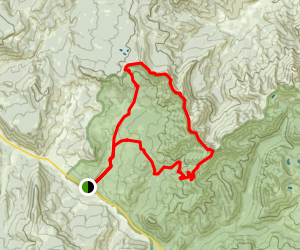 Sky Rim Loop Trail Map