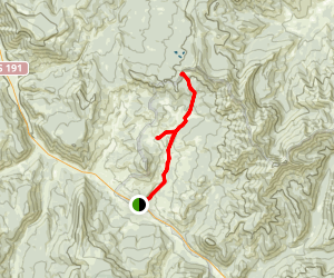 Daly Creek Trail Map