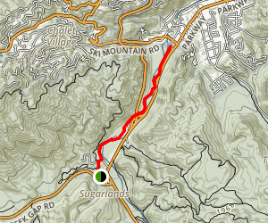 Gatlinburg Trail Map