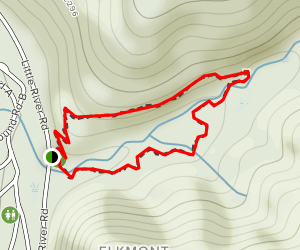 Elkmont Nature Trail Map