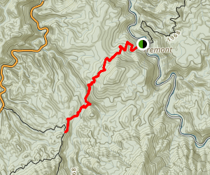 West Prong Trail Map