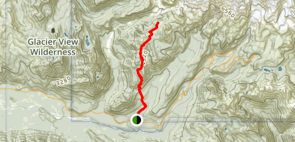 Indian Henrys Hunting Ground Trail to Mirror Lakes Map